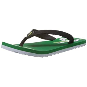 Puma Unisex Wave Jr Ind Green FlipFlops and House Slippers  - 2C UK