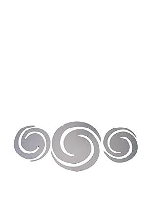 LO+DEMODA Vinilo de Espejo 3 Piezas Spiral Multicolor