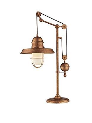 Artistic Lighting 1-Light Table Lamp, Bellwether Copper