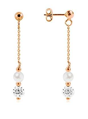 Manufacture Royale des Perles du Pacifique Pendientes  plata de ley 925 milésimas