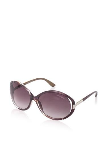 Tom Ford Women's Sandrine Sunglasses, Rose Brown