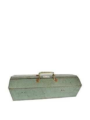 Uptown Down Vintage Steel-Handled Toolbox