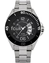FCUK Analog Black Dial Men's Watch - FC1116B
