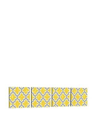 Dekorjinal Set, 4-teilig dekoratives BildTas086 (mehrfarbig)
