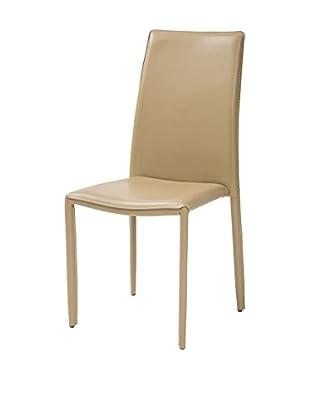 TUONI Stuhl 4er Set Dedis beige