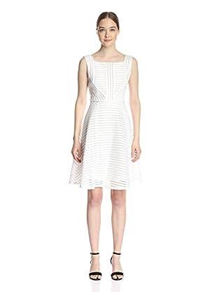 Gracia Mesh Striped Dress