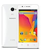 Karbonn Titanium S20 White - 4.5 Inches Display/ Android 4.4 Kitkat/ 1.3 GHz Quad core Processor/ 1GB RAM/ 3G