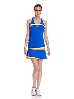 Naffta Vestido Tenis Pádel (Azul / Amarillo)
