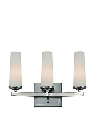 Bel Air Lighting Light Saber 3-Light Vanity, Satin Nickel