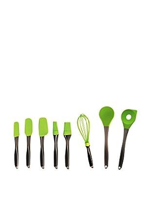 BergHOFF Geminis Green 8-Piece Silicone Utensil Set