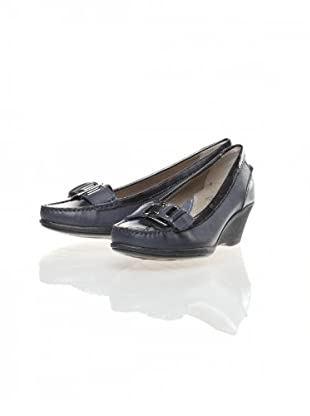 Clarks Zapatos Cuña Wish (Marino)