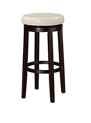 Linon Home Décor Maya Bar Stool, Brown