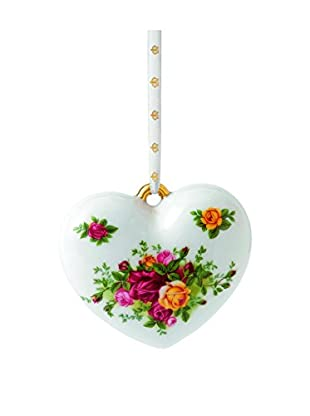 Royal Albert Old Country Roses Heart Ornament, Multi