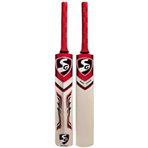 SG Max Cover Kashmir Willow Cricket Bat, Short Handle