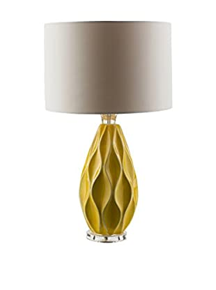 Surya Bethany Table Lamp, Yellow