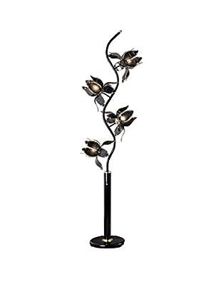 ORE International Floor Lamp, Black