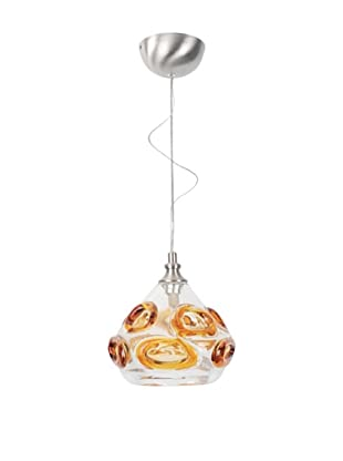 Viz Art Glass Ambrosia Single Pendant (Gold/Clear)
