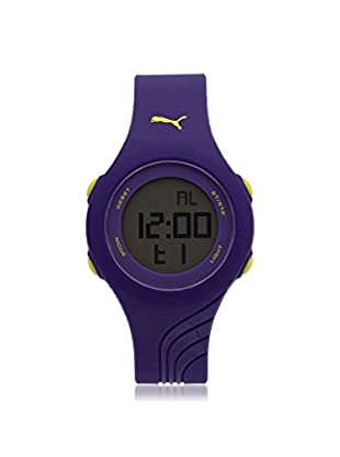 Puma Men's PU911092004 Purple/Grey Rubber Watch