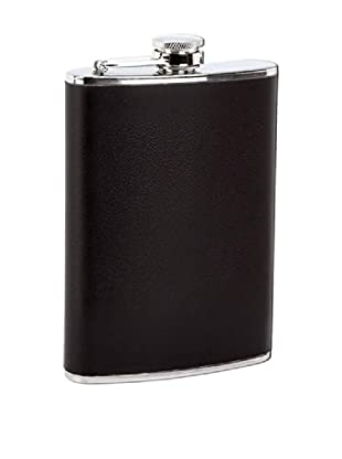 Classic 8-Oz. Stainless Steel Flask, Black