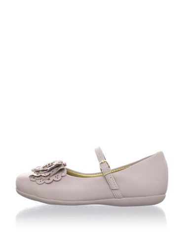 Pampili Kid's Ruffle Bow Mary Jane (Beige)