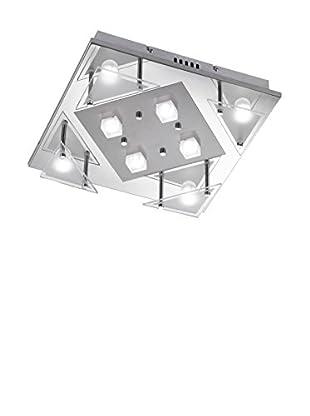 WOFI Deckenleuchte LED Impress chrom