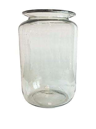 Small Wide Mouth Mason Jar, Clear