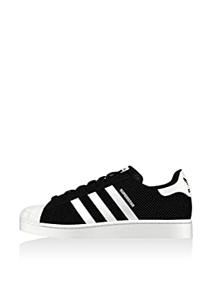 adidas Zapatillas Superstar Mesh Negro / Blanco EU 42 2/3 (UK 8.5)