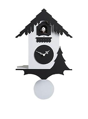 Diamantini & Domeniconi Reloj de Cuco Chalet Negro/Blanco