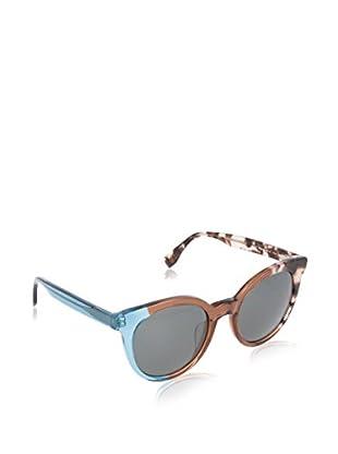 Fendi Gafas de Sol 0064/S 8A_MYA (51 mm) Marrón / Azul