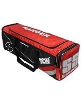 SS Ranger Cricket Kit Bag (Black/Red)