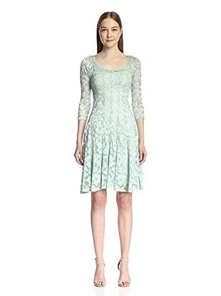 Chetta B Women's Magic Waist Lace Dress