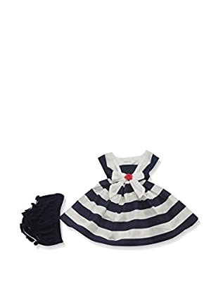 Pitter Patter Baby Gifts Vestido y Cubrepañal
