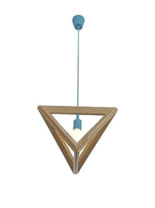 Lo+Demoda Lampe 3D Triangle braun