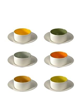 COVO Teetasse mit Untertasse 6er Set