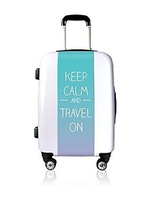 Magellan Hartschalen Trolley Keep Calm And Travel On   68  cm