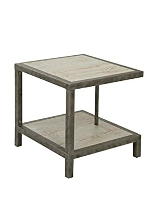 Armen Living Maxton Lamp Table, Natural
