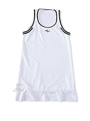Naffta Camiseta Niña (Blanco / Negro)