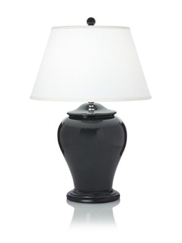 Abigail Table Lamp (Trans Charcoal)