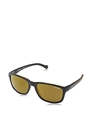 Arnette Gafas de Sol Straight Cut (58 mm) Negro 58