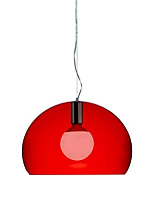 KARTELL Lámpara De Suspensión LED Fl/Y Small Rojo
