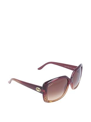 Gucci Gafas de Sol GG 3574/S OH W8W Burdeos Dorado Diamante