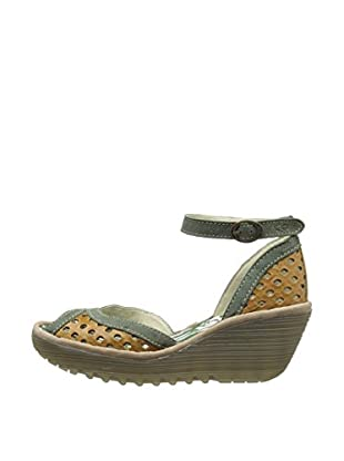 Fly London Sandalias Ydel (Camel / Gris)