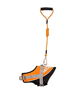 Helios Bark-Mudder Easy Tension 3M Reflective Endurance 2-in-1 Adjustable Dog Leash/Harness