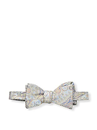 Bruno Piattelli Men's Paisley Tie, Blue