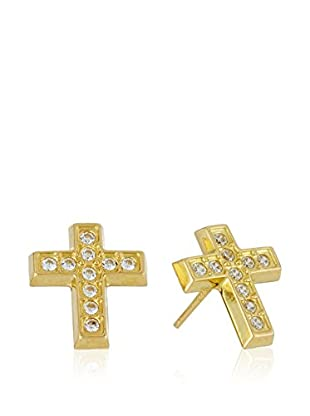 Rhapsody Ohrringe Cross 18 Karat (750) Gelbgold