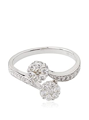 PARIS VENDÔME Ring Toi Et Moi Pavé De Diamants Diamants