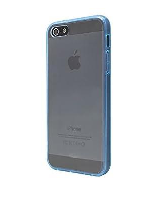 NUEBOO Hülle Fluor-Side iPhone 5/5S/Se blau