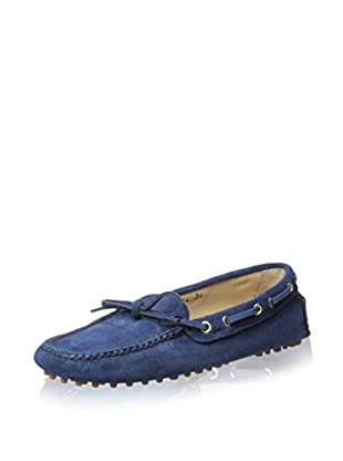 Car Shoe Women's Driver Moccasin (Blue)
