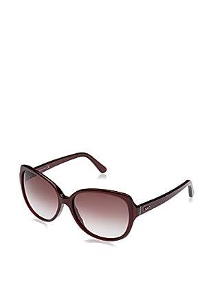 Tod'S Gafas de Sol TO0160 (58 mm) Rojo Oscuro