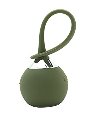 LED Waterproof Bluetooth Hanging Speaker, Olive
